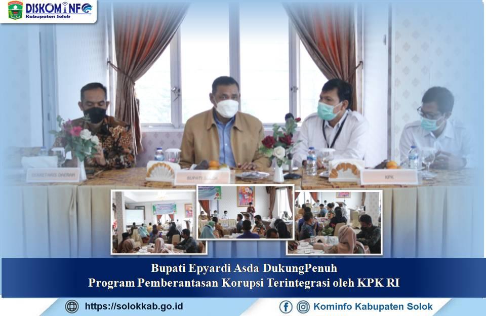 Bupati Epyardi Asda Lantik Medison Sebagai Penjabat Sekda Kabupaten Solok