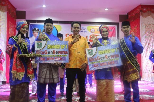 Grand Final Pemilihan Duta Genre dan Penobatan Ayah Bunda Genre Kabupaten Solok