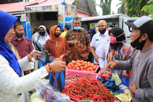 DPP Kabupaten Solok Gelar Pasar Murah