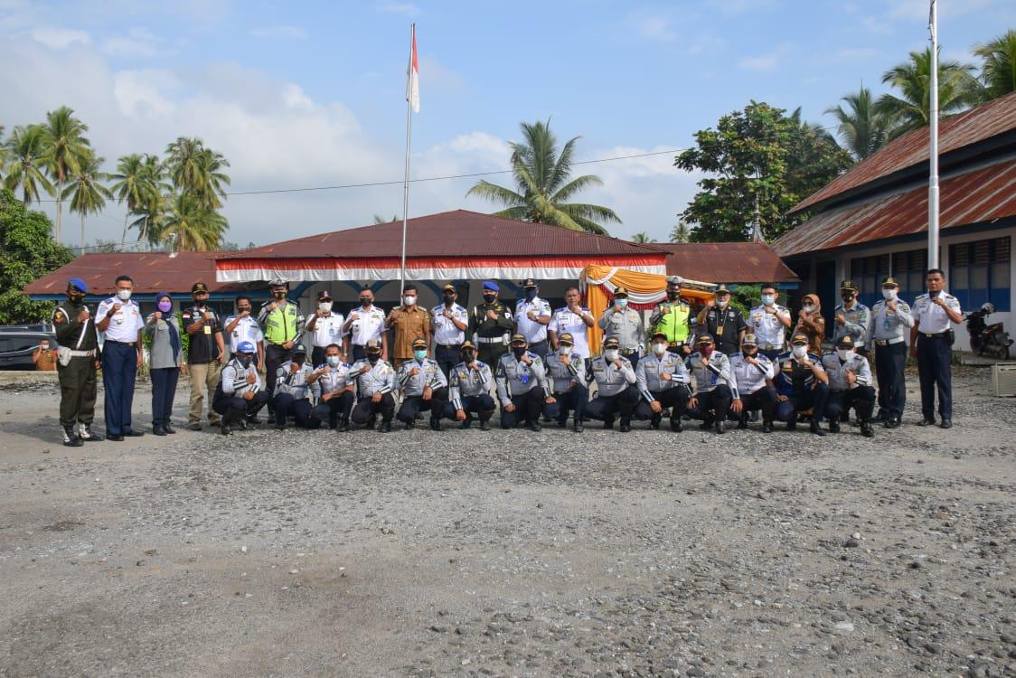 Wakil Bupati Solok Pimpin Apel Persiapan Pelaksanaan Penertiban  Dan Penegakan Hukum Kendaraan Orang