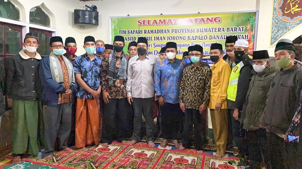 TSR Propinsi Kunjungi Mesjid Nurul Iman Nagari Simpang Tanjuang Nan Ampek