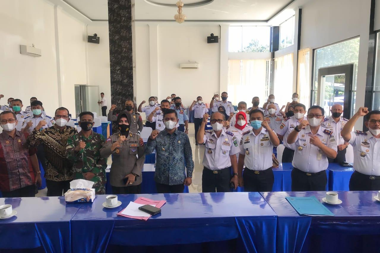 Wabup Hadiri Rapat Forum Lalu Lintas dan Angkutan Jalan Propinsi Sumbar